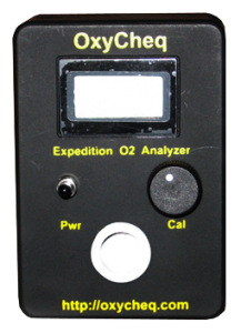 Oxycheq Oxygen Analyzer