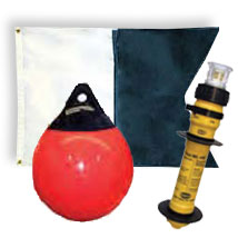 Buoys, Flags and Markers