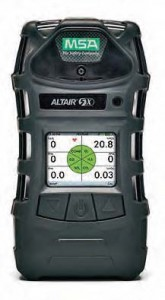 MSA ALTAIR 5X Multigas Detector with XCell Sensor Technology