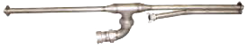 Stainless Steel Jet Nozzle with Air Injection