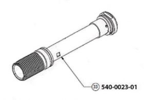 exhaust tube with seal