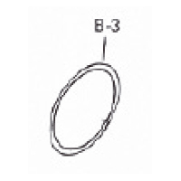 O Ring for manifold to face seal