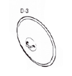 Diaphragm and Stem Guide Assembly