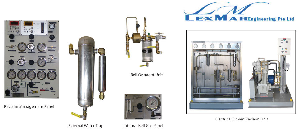 Diver Gas Recovery Reclaim System
