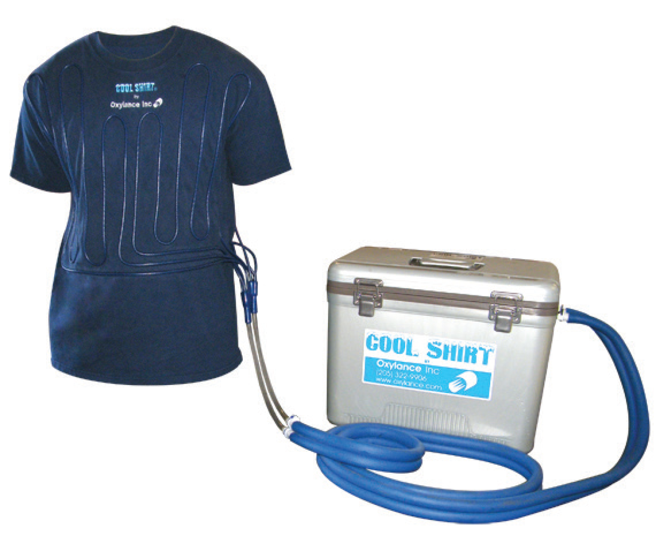 Cool Shirt Systems >> Oxylance Personal Cooling System Bay Tech Diving Equipment