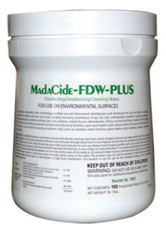 MadaCide Fast-Drying Wipes