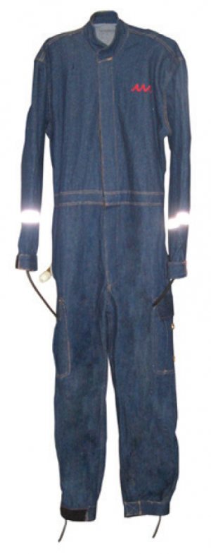Denim Hot Water Suit