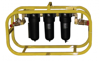 Three-Stage Filtration System