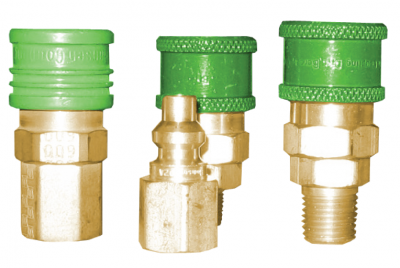 Brass LP Oxygen Sockets and Plugs