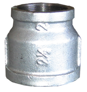 Couplers - Reducing Galvanized