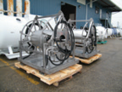 Stainless Hydraulic Hose Reel, 600'