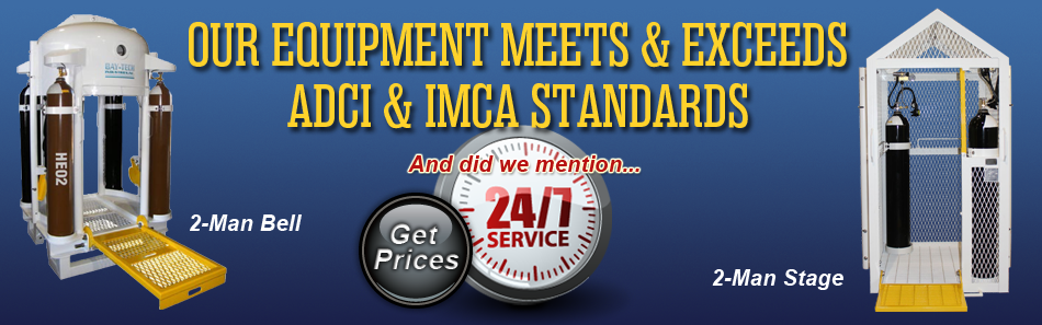 our equipment meets and exceeds industry standards