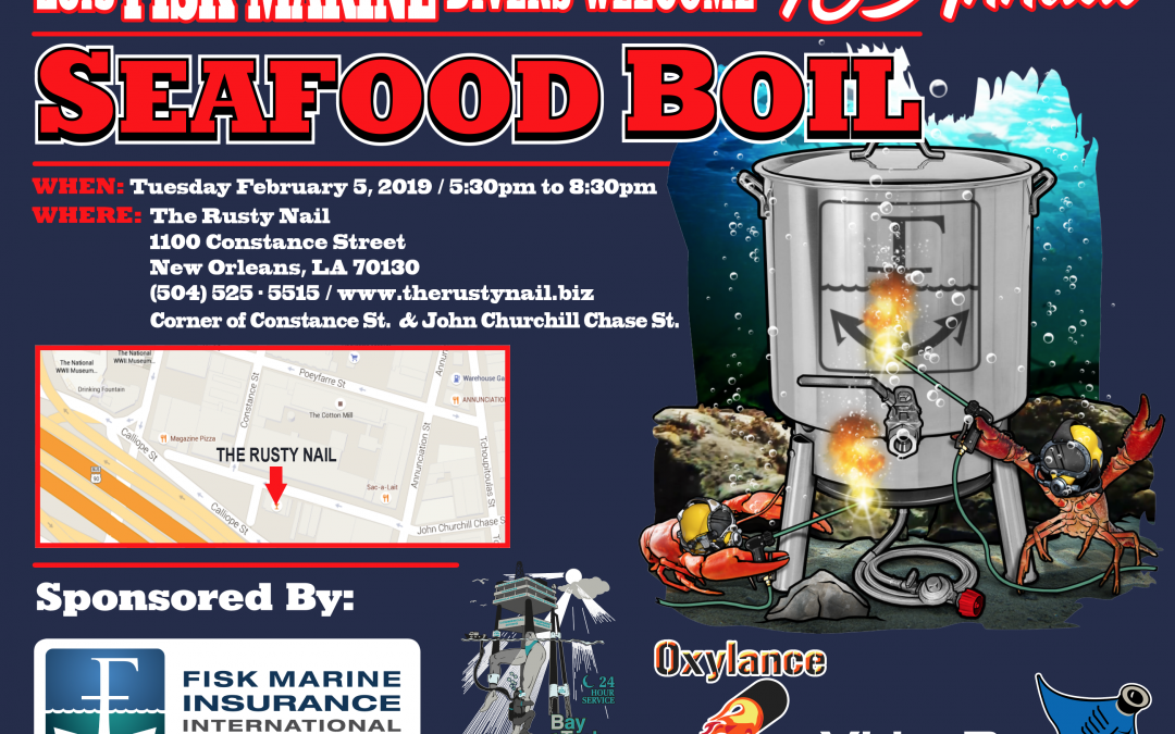 Underwater Intervention Annual Seafood Boil 2019