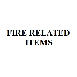 Fire Related Items